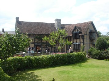 The Garden of Shakespeare's Birthplace.