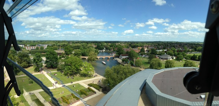 RSC Tower Views towards the River Avon.