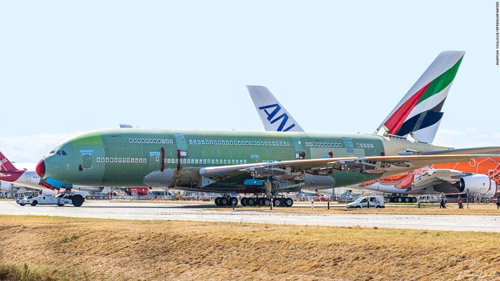 Last ever Airbus A380 superjumbo almost finished