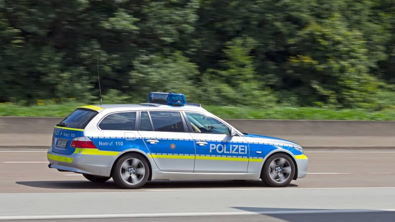 The Autobahn even has its own police force.