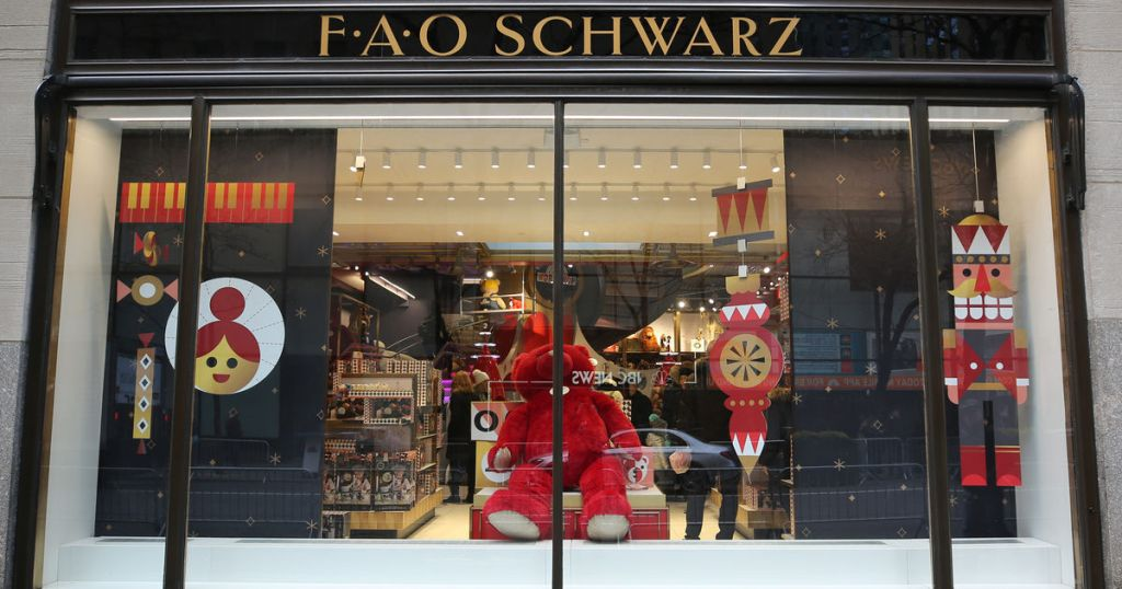 Spend the night at FAO Schwarz via Airbnb