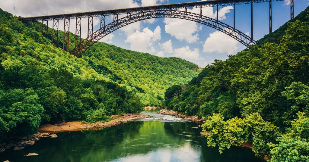 Welcome to America's newest National Park: New River Gorge!
