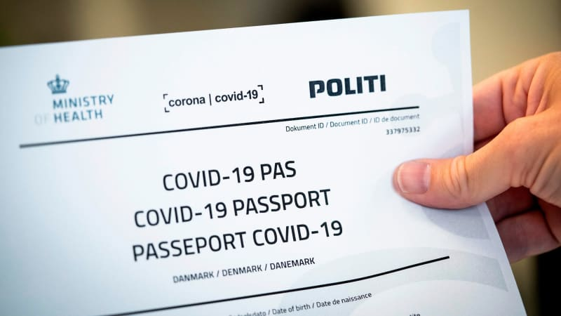 Denmark hopes to have a vaccine passport scheme in place by summer.