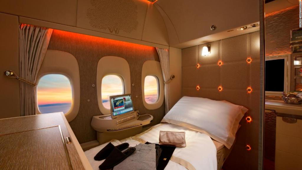 The greatest airplane beds in the sky