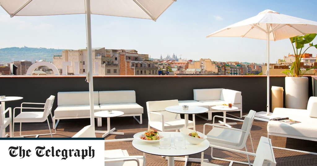 The best budget hotels in Barcelona, including shady gardens and rooftop pools