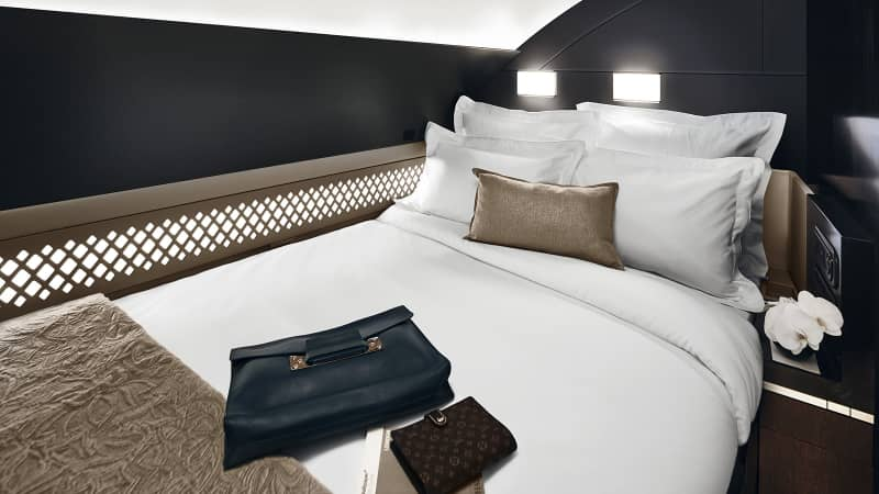 The Residence from Etihad Airways is a three-room apartment in the sky.