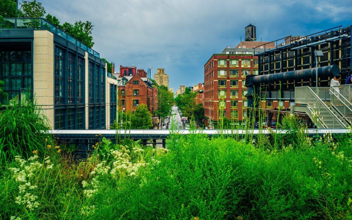 High Line Park, New York