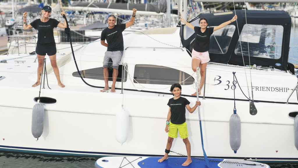 Meet a family that travels the world full time on a yacht for $2,500 a month