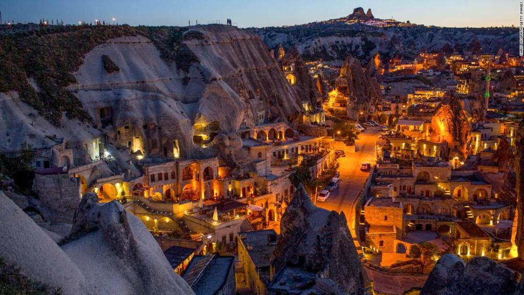 Inside Turkey's incredible underground city