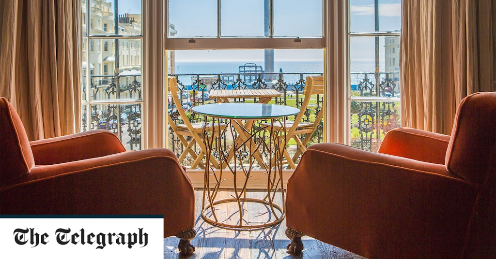 The best seafront hotels in Brighton with sea-view rooms and stylish interiors