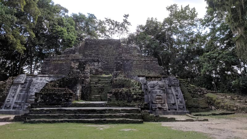 Mayan ruins can be found in northern Belize. Visit Lamanai in the early morning to beat the midday heat and leave your afternoon open to water activities.