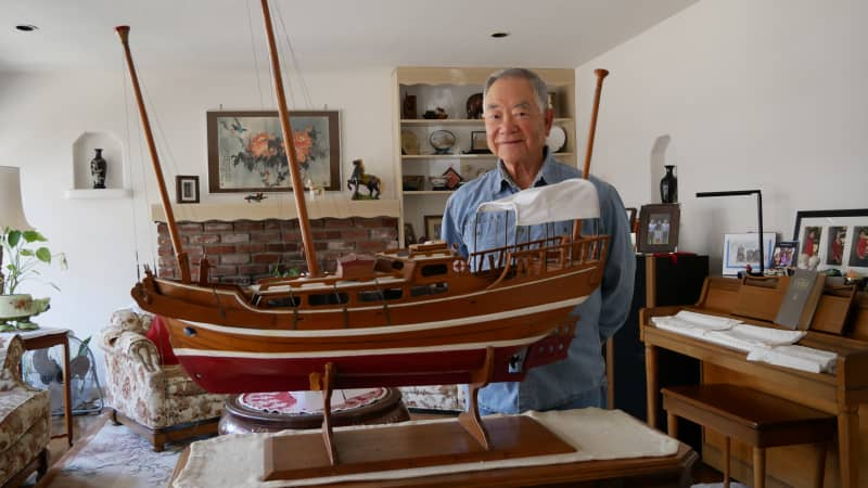 Fong, 81, remembers the journey that brought him to America.