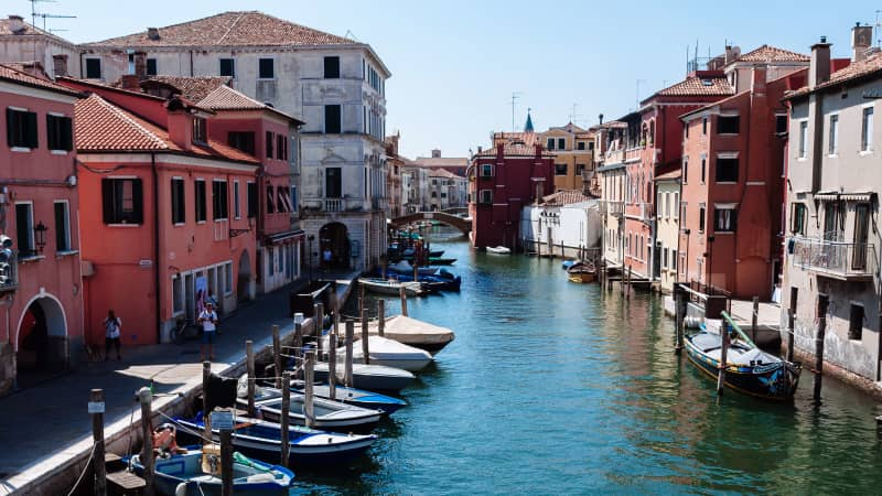 Chioggia sits at the southern end of the Venice lagoon.
