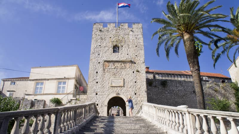 The Venetian walls and fortifications survived communist rule.