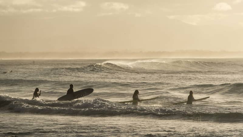 Byron Bay is known for its surfing scene and laidback ambiance.