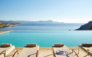 Lindos Blu, Rhodes, Greece