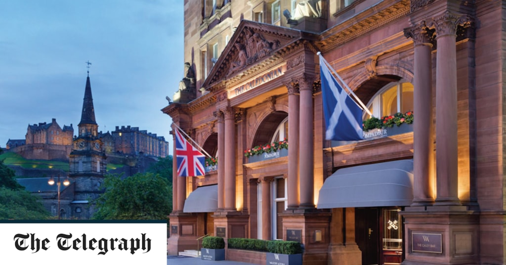 The best hotels near Edinburgh Castle, from luxury grand dames to budget-friendly digs