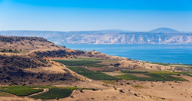 Sea of Galilee, Travel Israel and Palestine