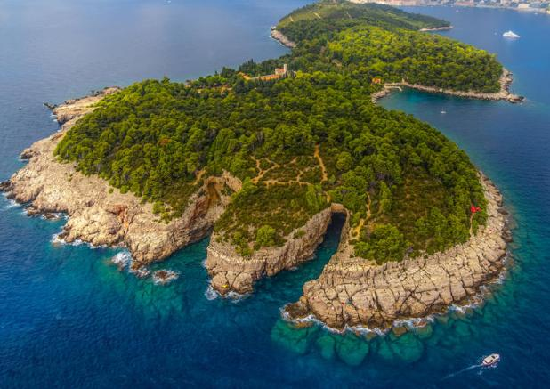 Lokrum: Travel Dubrovnik Croatia