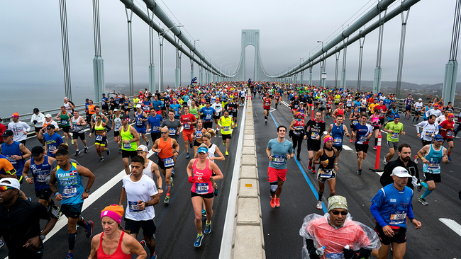 New York City Marathon in 2020