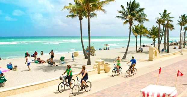 Hollywood, Florida:  top 5 destinations for November