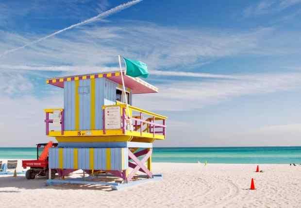 travel Miami, Florida in December