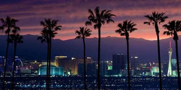 travel Las Vegas, Nevada in december
