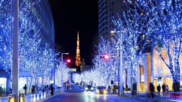 travel Tokyo, Japan in december
