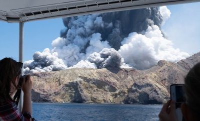 Effects of White Island New Zealand Volcanic Eruption 2019