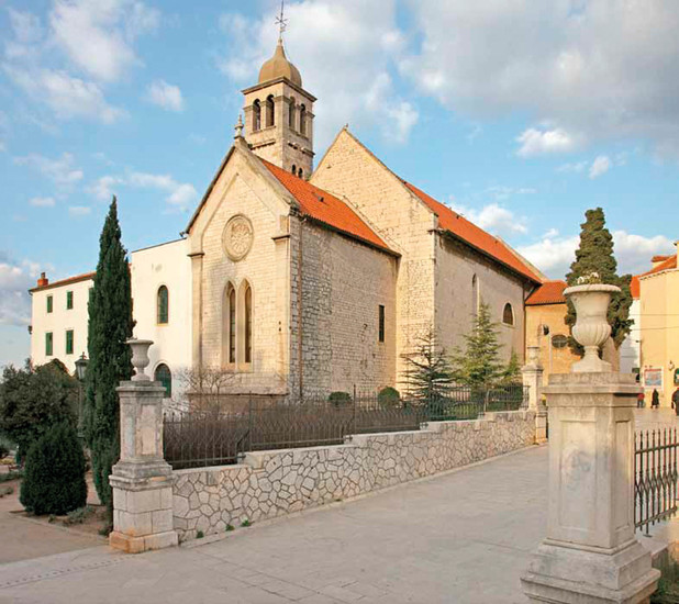 St. Francis's Church Šibenik Croatia