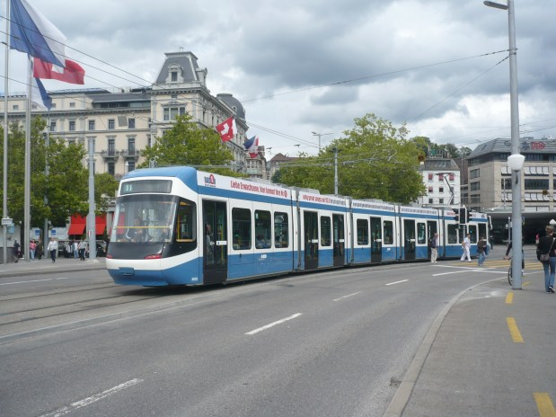 Travel by Buses and Trams in Switzerland