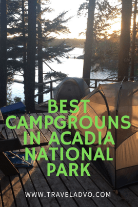 Acadia National Park Camps