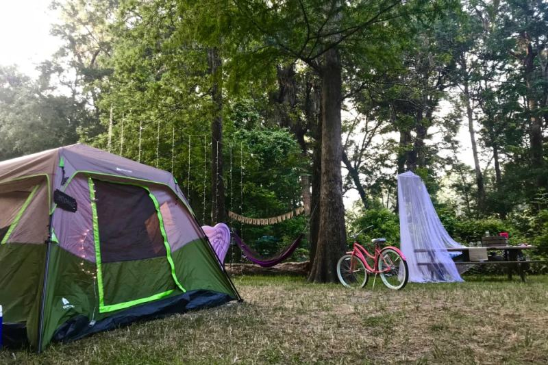 About Florida Springs Camping in Ginnie Springs