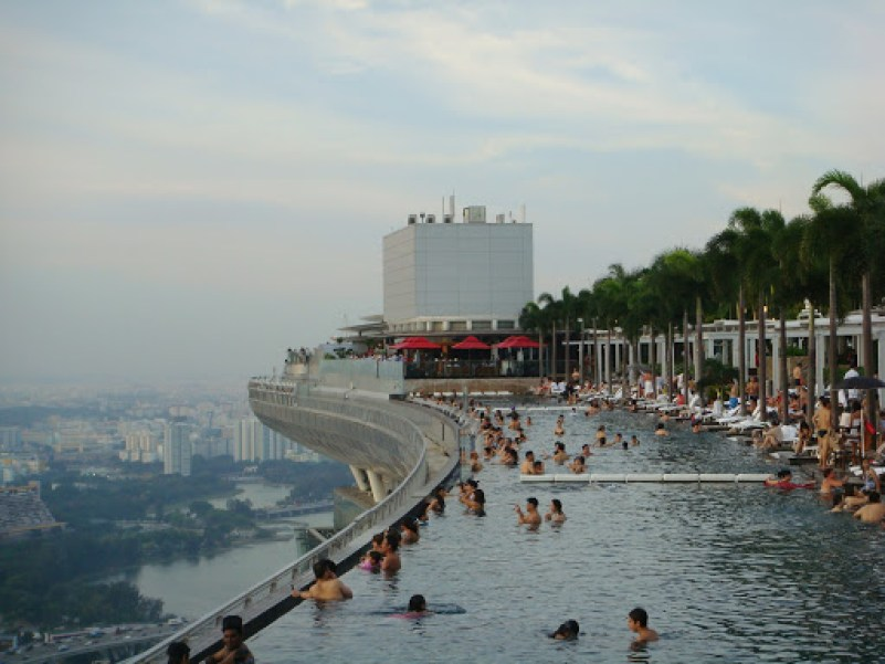 How to get access to Marina Bay Sands Pool