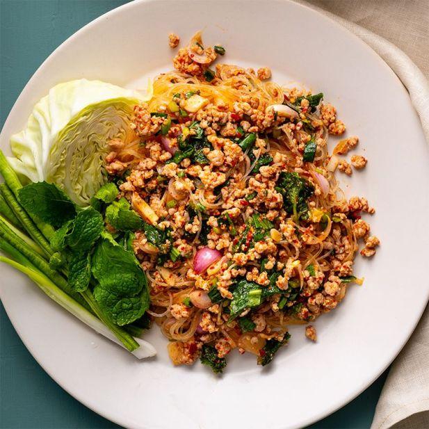 Laab (Spicy Salad)