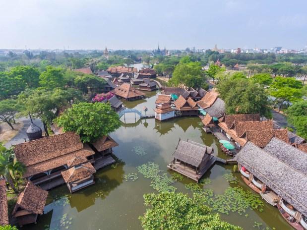 Muang Boran Floating Market