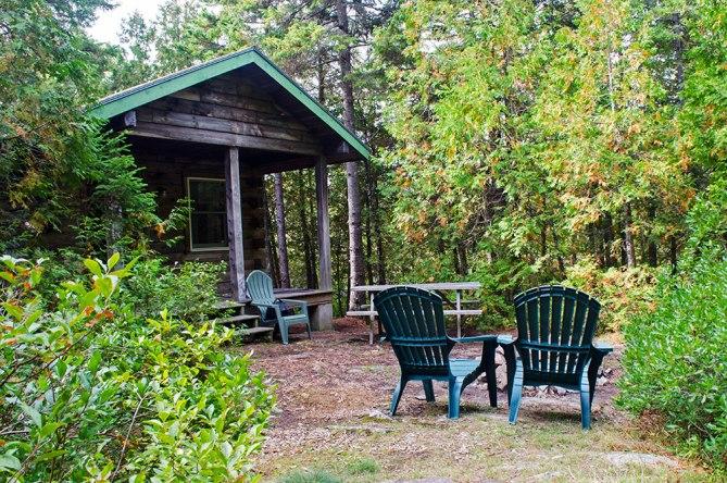 Quietside Campground Acadia