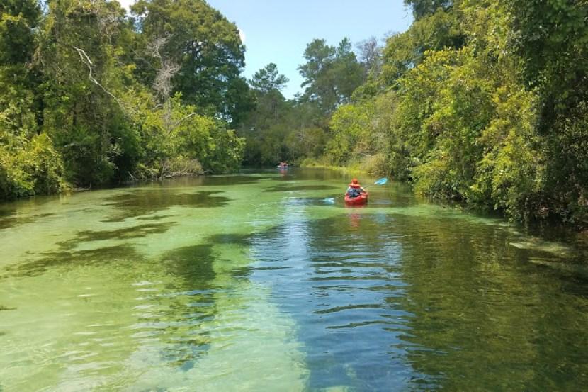 Weeki Waachi Springs State Park Florida Springs Camping