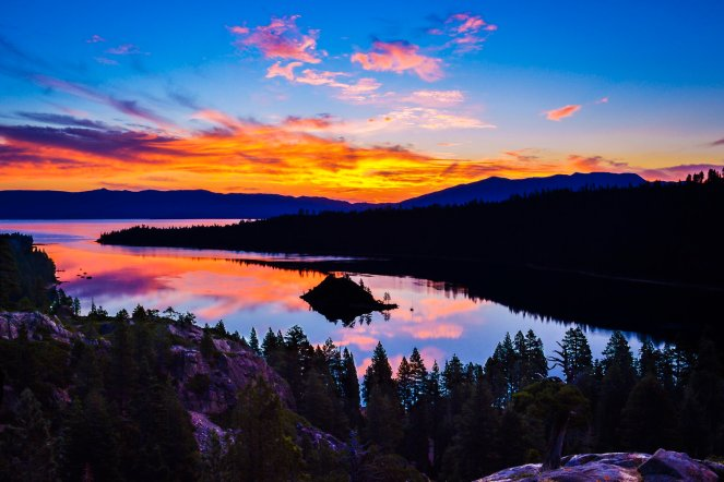 How do you get to Emerald Bay in Lake Tahoe