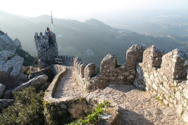 Moorish Castle in Sintra Portugal