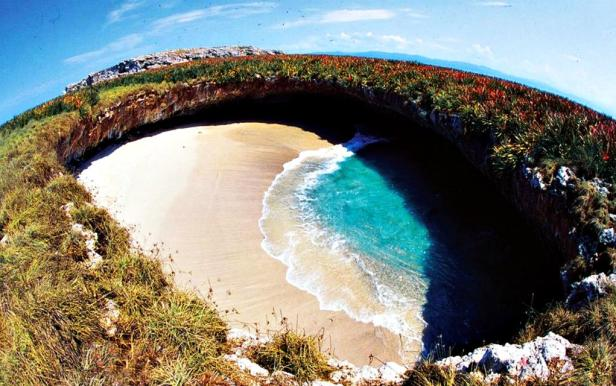 Playa del Amor best beaches in Mexico