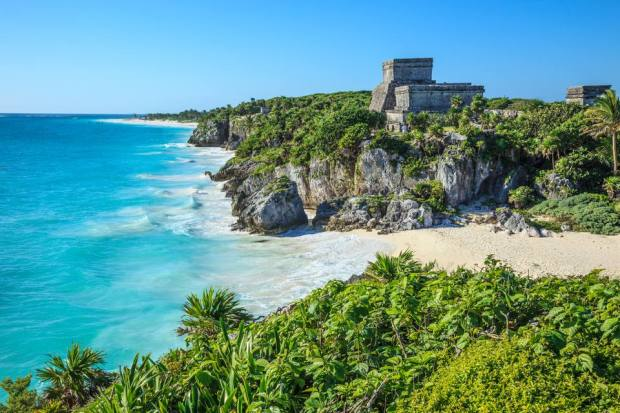 Best secluded beaches in Mexico Riviera Maya Quintana Roo