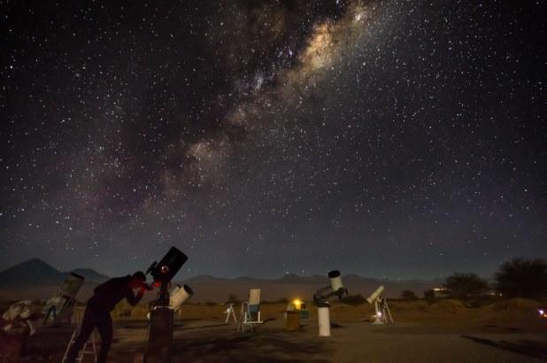 Stargazing in the Atacama