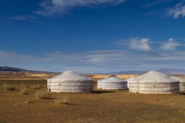 ger camps in gobi desert