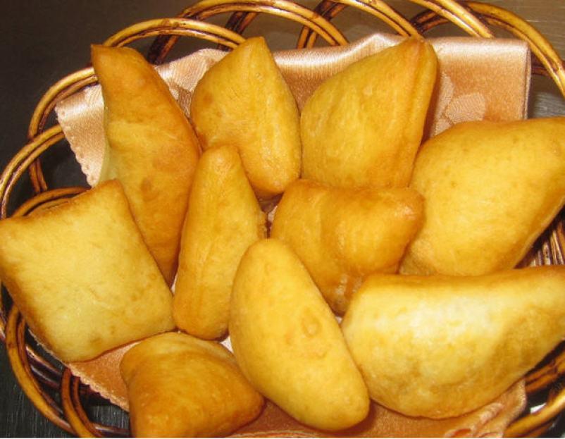 Boortsog or Mongolian cookies