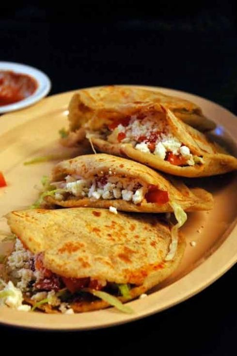 Gorditas and Sopes Mexican Street Food
