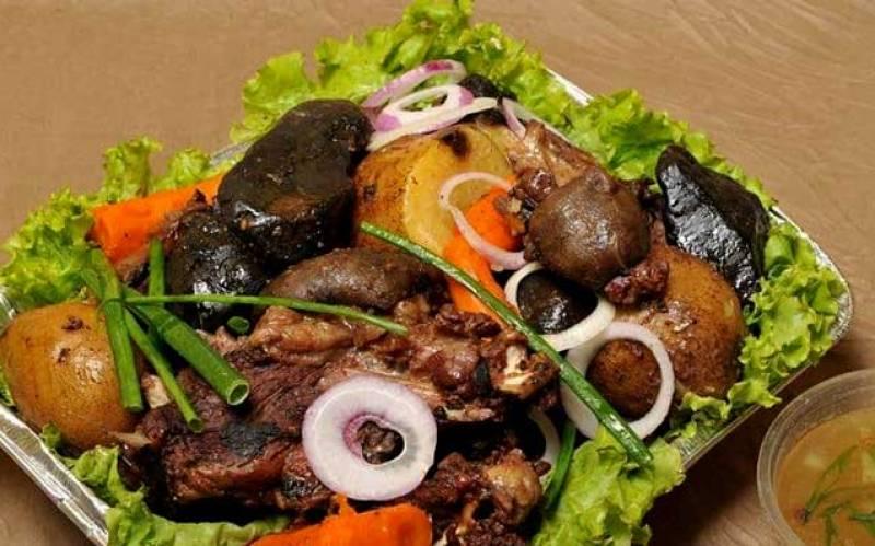 Khorkhog or Mongolian Barbeque