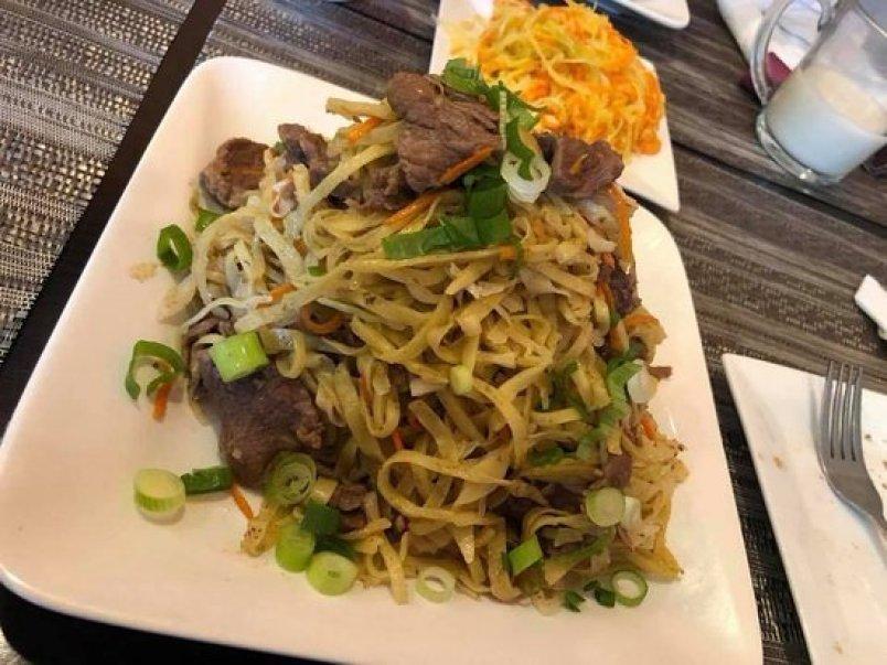 Tsuivan or Mongolian Noodle Stew