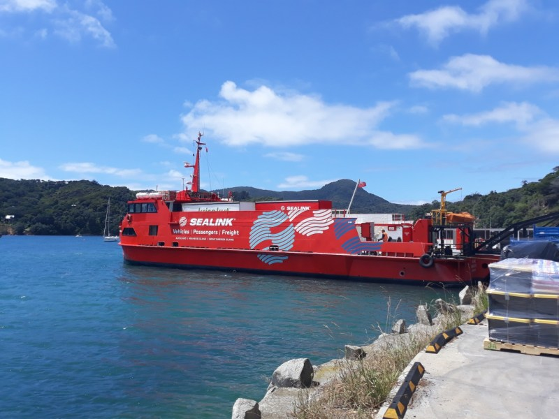 How do you get to Great Barrier Island?