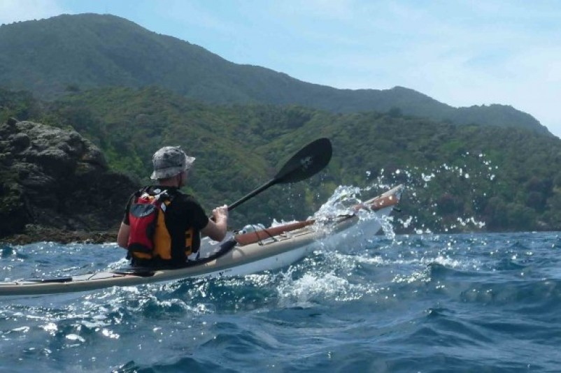 Kayaking in Great Barrier Island